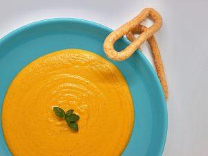 Crema zanahoria, coco, jengibre y curry