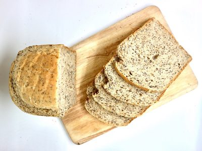 Pan de semillas de amapola